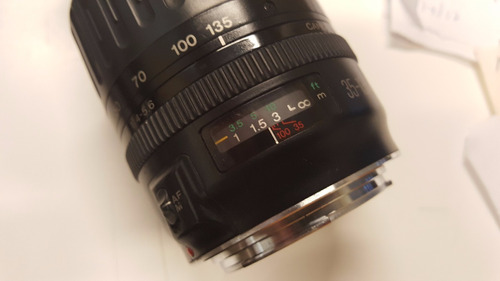 Teleobjetivo Canon 35-135 Mm Uv-circular Eos Autofocus