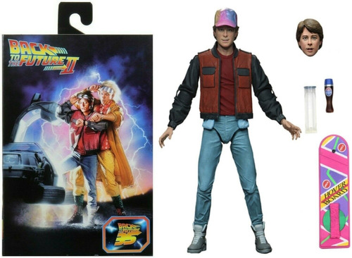 Neca Back To The Future Part 2 Marty volver Al Futuro