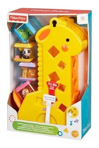 Girafa Com Blocos Surpresa- Fisher Price