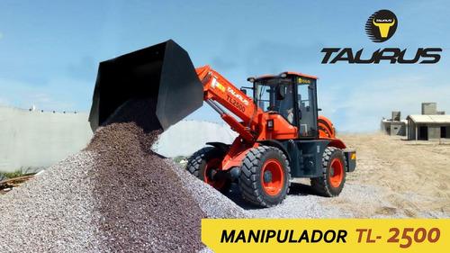 Manipulador Brazo Telescópico Pala Cargadora Taurus Tl 2500