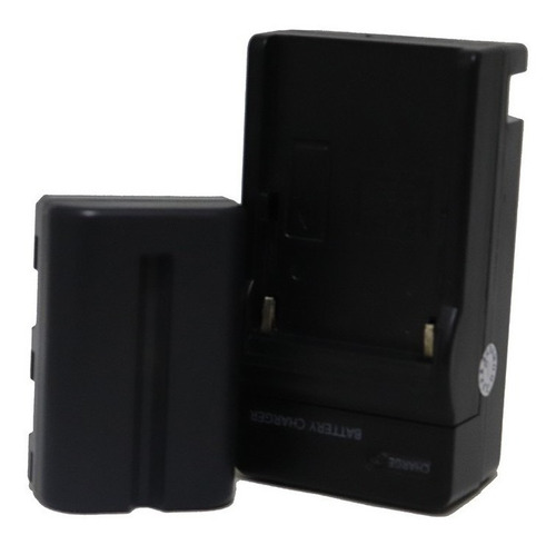 Bateria Fits-fm500h Cameras Sony Alpha Carregador Mostruário