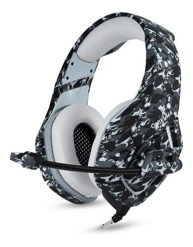 Auriculares Gamer Onikuma K1-b Camouflage Gray