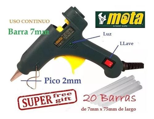 Pistola De Pegar Mota Ju07 7w Barra Chica + Regalo 20bar