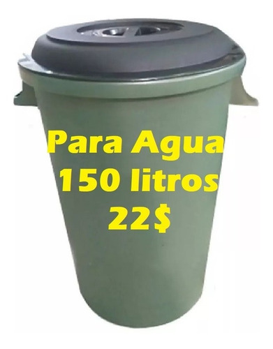 Pipote Plastico Para Agua 150 Litros - 840001