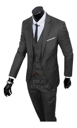 Terno Masculino Slim 9 Cores Paletó + Calça Lançamento 2020