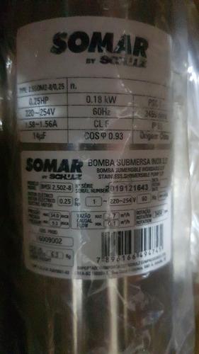 Bomba Submersa Somar 1/4 Cv