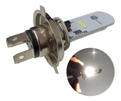 Lampada Farol Led H4 Moto Ou Carro 8000k 6 Leds 65w
