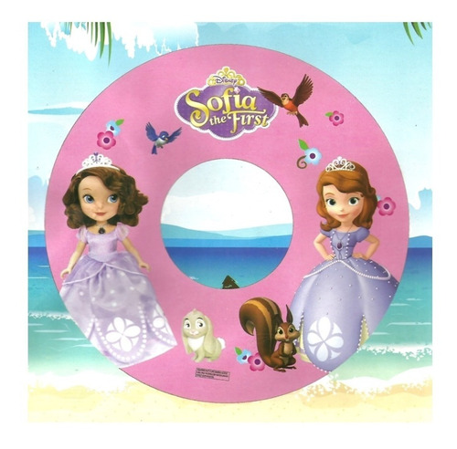 Salvavidas Inflable Infantil - Princesita Sofia - 60 Cm