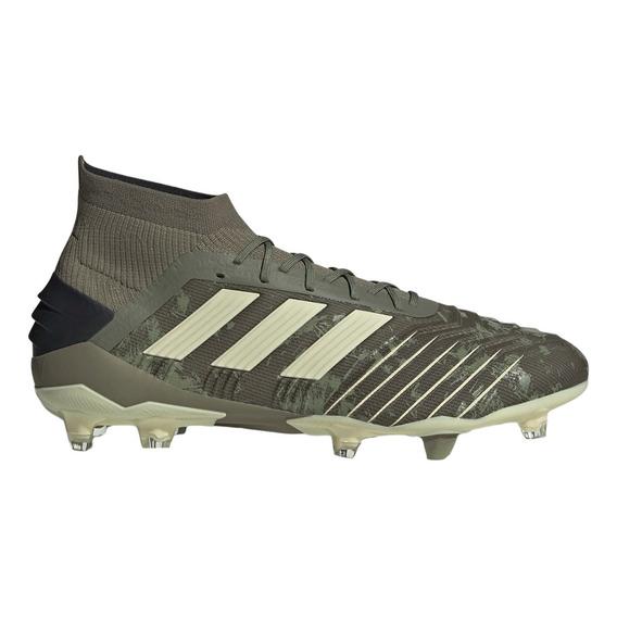 Botines Con Tapones adidas Predator 19.1 Fg Hombre Ol/ng