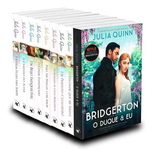 O Duque E Eu - Os Bridgertons Coleção Completa 9 Livros