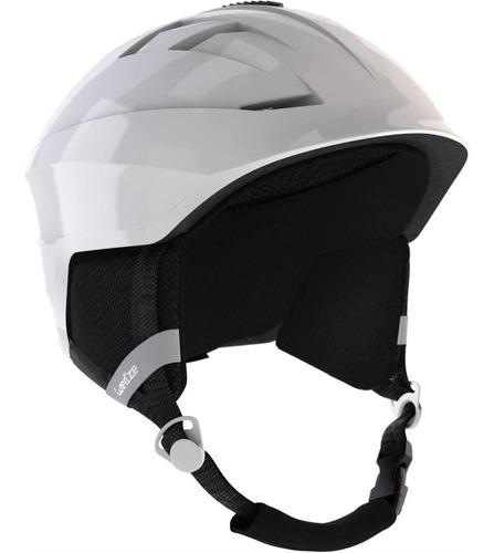 Capacete Adulto De Ski E Snowboard H300 - Cor Branca