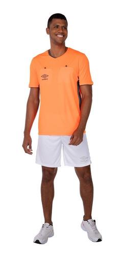 Camiseta Umbro Arbitro Twr Fit  Laranja Fluor 737951