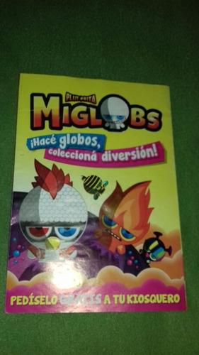 Miglobs Álbum De Chicles Vacío Plutonita Año 2016 Golosina
