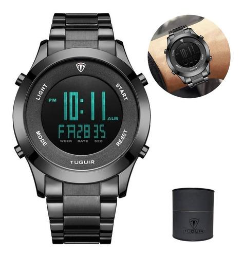 Relógio Original Prova Dágua Prata Funcional Barato Promoção