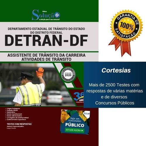 Apostila Detran Df Assistente De Trânsito Da Carreira