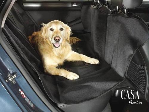 Capa Protetora Banco Traseiro Pet Caes Animais Fácil Limpeza