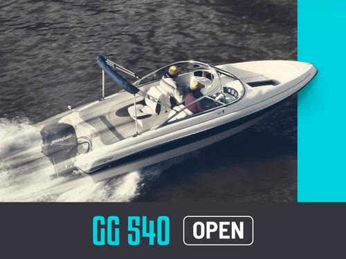 Lancha Gg540 2020 C / Motor Mercury 90hp 2t