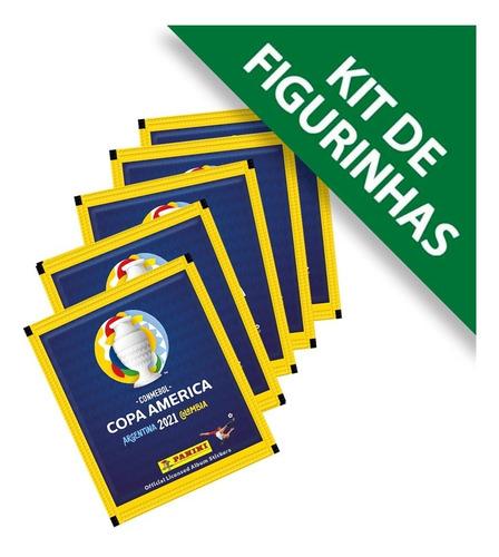 Figurinhas Conmebol Copa América 2021  20 Envelope 100 Cromo