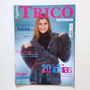 Revista Tricô Inverno Blusas Gorro Cachecol Vestidos Bc17