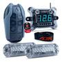 Kit Smart Control Ajk Voltímetro 2 Strobos E Controle Longa