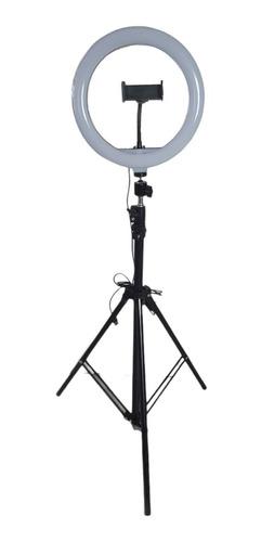 Kit 10 Ring Light Iluminador 14 Polegada 30cm Com Tripe 2m
