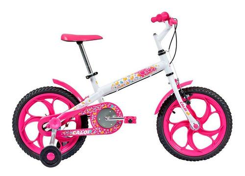 Bicicleta Caloi Ceci Aro 16, Quadro Em Aço, Freios Cantileve