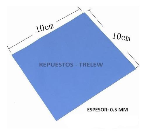 Thermal Pad 100x100x0.5mm De Espesor - T5 - Sin Cortar