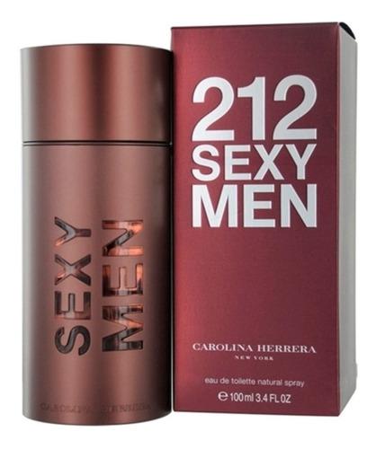 Perfume Caballero 212 Sexy Men Carolina Herrera 100ml Origin
