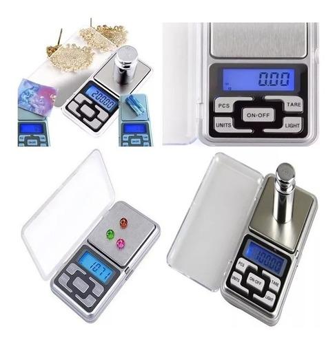 Balanza Digital Precisión 0.1g A 500g Joyero Gramera A Pilas