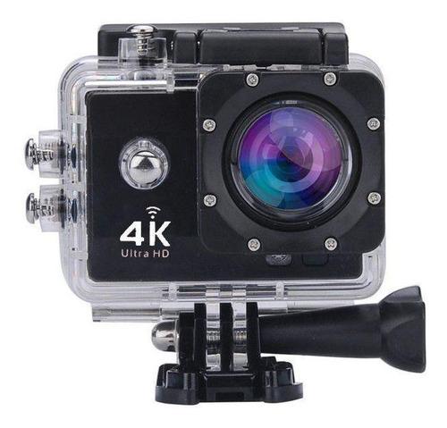 Camera Filmadora Wifi 4k Ultra Hd 16 Mp A Prova D Agua