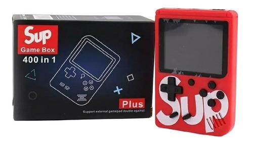 Kit 15 Vídeo Game Portátil Mini Sup 400 Jogos Em 1