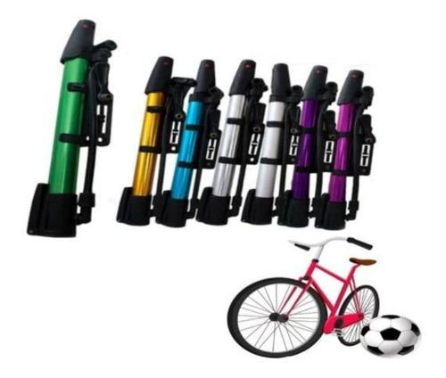 Bomba De Ar Para Bicicleta Bola, Infláveis, Pneus Entre Outr