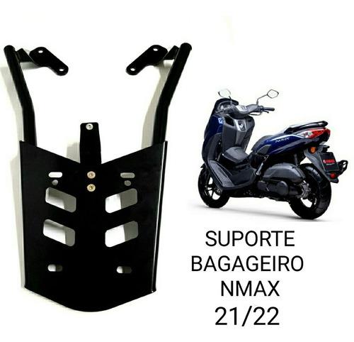 Suporte Baú Bagageiro Bauleto Yamaha Nova Nmax 2021