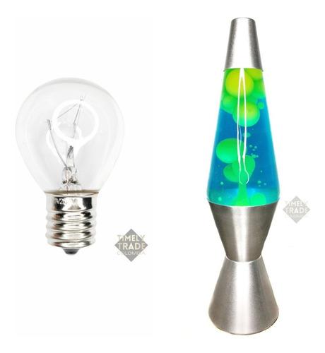1 Bombillo Para Lámpara De Lava Original. +2300 Horas, 25w