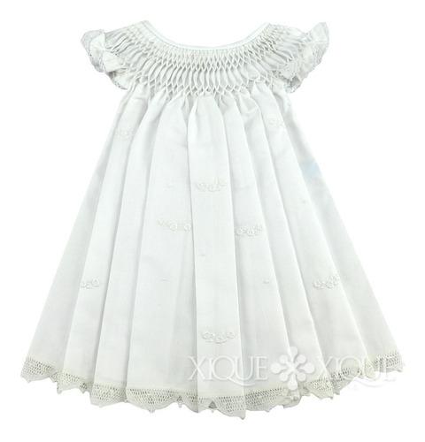 Vestido Casinha De Abelha Renascença + Faixa Flor Renascença