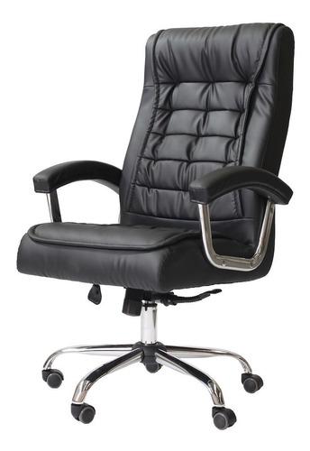 Cadeira Para Escritório Presidente Relax Giratória Com Molas