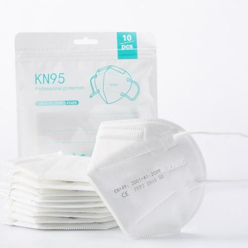 Pacote Com 10 Mascaras Reutilizável 5 Camadas Kn95