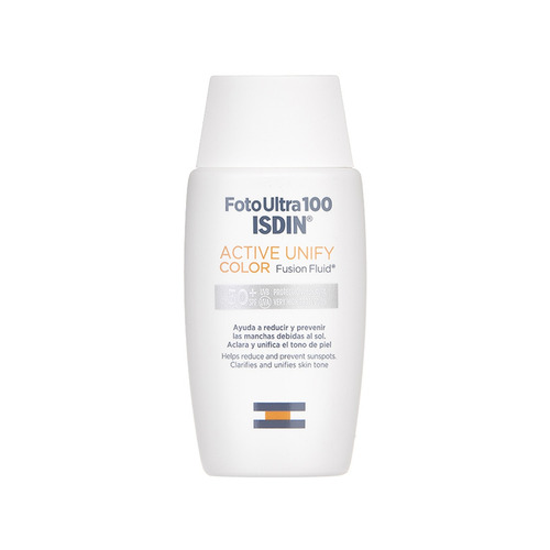 Fotoprotector Isdin Foto Ultra Active Unify Color Fluido Fps50 X 50ml