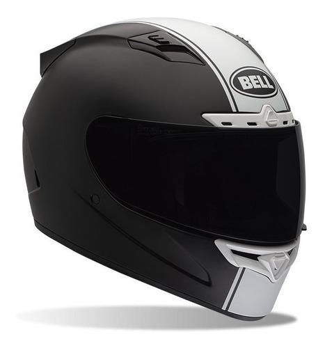 Capacete Motociclista Bell Qualifier Dlx Mips Preto Branco