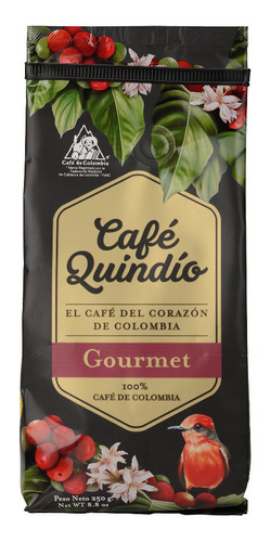 Café Quindío, Colombiano Gourmet Excelso Grano 500g