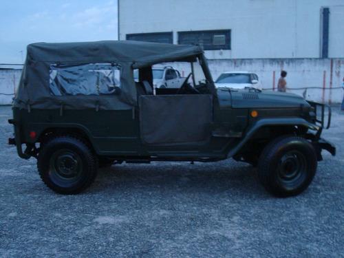 C20,d10,jipe Toyota Militar Xingu Longo 7 Lugares Original