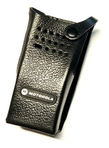 Funda Motorola Cuero Y Correa Pmln5839a