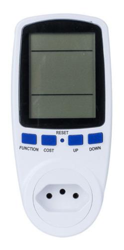 Wattímetro Digital Ac Medidor Consumo De Energia 2500w 220v