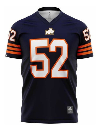 Camisa Chicago Bears Retrô Rinno Force Futebol Americano