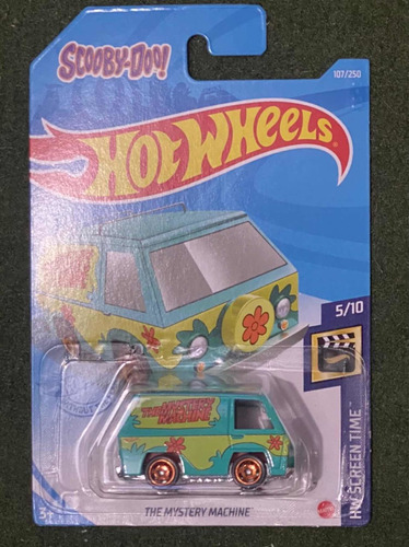 Mystery Machine Hot Wheels 2021 Mattel