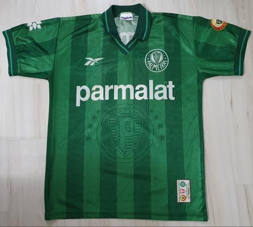 Camisa 3 Do Palmeiras 1997 Reebok #10 Parmalat