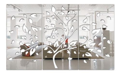 Espelho Decorativo Árvore Primavera Em Acrílico