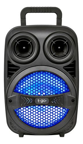 Parlante T-go Fiesta 8c Portátil Con Bluetooth Negro 220v