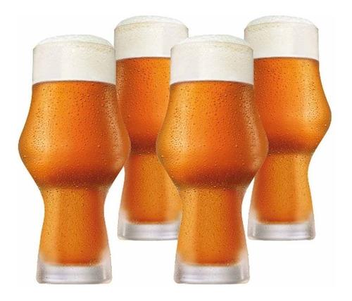 Jogo Ritzenhoff Copo Cerveja Kit Craft Beer Ipa 495ml 4 Pcs