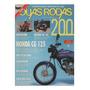 Duas Rodas N°200 Suzuki Ae 50 Honda Cg 125 Today Xj 600s